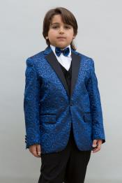 Boys Blue Suit