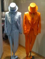 Orange ~ Light Blue Dumber and & Dumber Suits