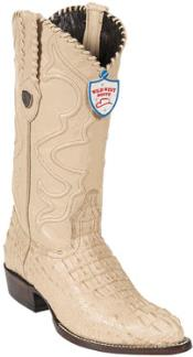 Oryx J-Toe caiman ~ World Best Alligator ~ Gator Skin Hornback Cowboy Boots