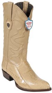 West Oryx Ostrich Leg Cowboy Boots - Botas De Avestruz