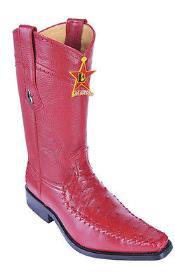 Leather Red Los Altos