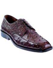 Genuine Ostrich Oxfords Style
