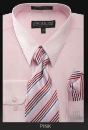 Dress Shirt - PREMIUM TIE - Pink