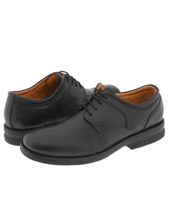 Plain-toe four eyelet blucher