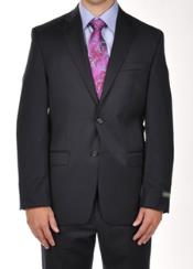 Suit Separates Solid Dark Navy Dress Suit Separates Portly CUT