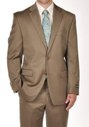 Mens Suit Separates Tan ~ Beige Dress Suit Separates Portly CUT