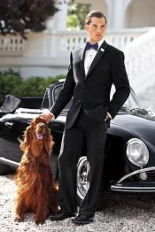 Mix and Match Suits Ralph Lauren Two Button Tuxedo