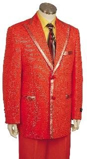 Fashionable Zoot Suit Red