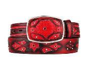 Belt Red Original Lizard