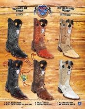 Genuine OSTRICH Cowboy Western