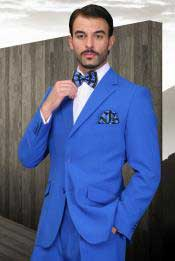 Royal Blue Dress Cheap Priced Business Suits Clearance Sale for Men