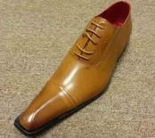 Pointed Toe Rust Oxford