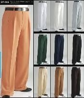 rise big leg slacks Mens Fashion Wide Leg Pant  unhemmed