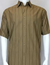 brown Short Sleeve shadow