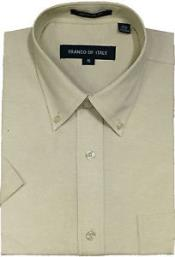 Oxford Summer Wear Basic Button Down