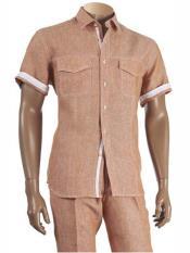 Short Sleeve 100% Linen