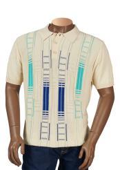 Geometric Pattern Cotton Blend
