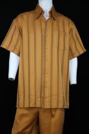 Stripes Short Sleeve Left