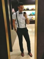 high school homecoming outfits for guys Casual package White