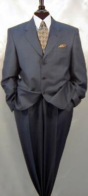 charcoal ticket pocket suit