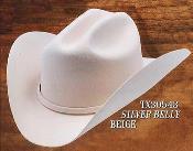 Cowboy Western Hat 4X Felt Hats Silver Belly