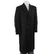 Classic single breasted Mens Dress Coat fashion~business overcoat in 3 Colors