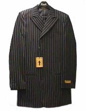 And White Pinstripe Zoot