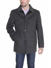 Coat Single Breasted Solid