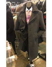 Overcoat ~ Topcoat Available Charcoal Grey or Black