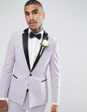 Lavender Tuxedo Suits with