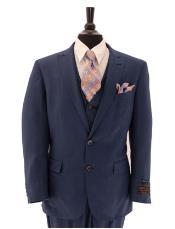 Tiglio Lux Mens 3 Piece Single Breasted Suit