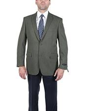 Olive 2 Button Blazer