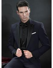 SKU#GD1552 Mens Western Traje Vaquero Black Suit & Tuxedo