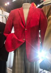 Mens Red Blazer ~ Sportcoat ~ Jacket
