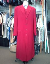 Maxi full-length zoot suit Vested Red