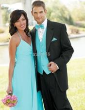 Blue Fashion Tuxedo For Men