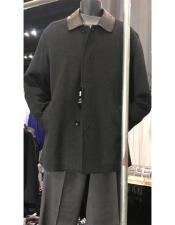 Wool Car coat Black