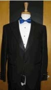 Single Button Peak lapel Black Tuxedo
