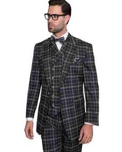 Statement Plaid Window Pane