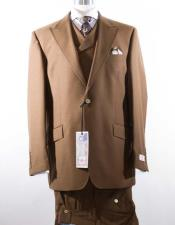 Piece Mens Peak Lapel