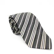Classic Brown Necktie with Matching Handkerchief - Tie Set