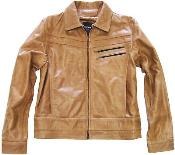 Genuine Leather Jacket Slim