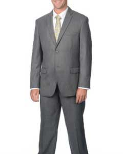 2-Button Notch Collar Cheap Priced Business Suits Clearance Sale