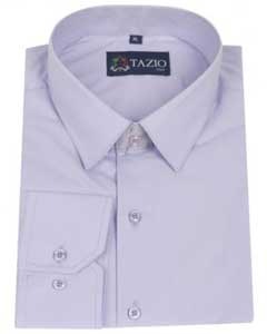 Slim Fit - Lavender Mens Dress Shirt