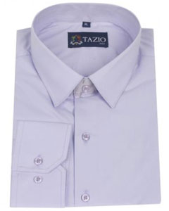 Lavender Slim Fit Mens Dress Shirt