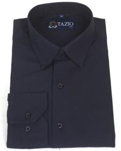 Slim Fit - Dark Navy Blue Mens Dress Shirt