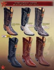 pull-up Cowboy Western Boots