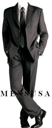 Black Formal Suit +Shirt