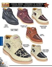 Exotic Skin Sneakers for