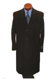 Classic single breasted overcoat
